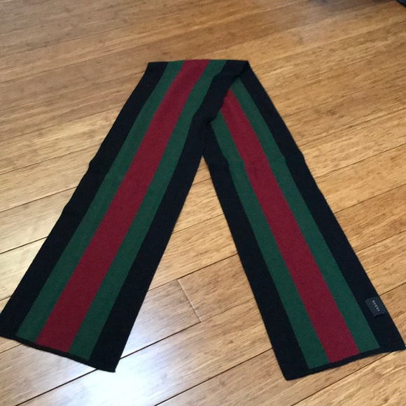 2d82dba0a Gucci Accessories | Today Only 100 Auth Mens Scarf | Poshmark
